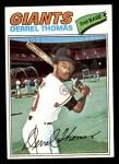 1977 Topps #266  Derrel Thomas  Front Thumbnail