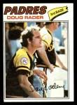 1977 Topps #9  Doug Rader  Front Thumbnail