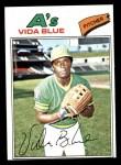 1977 Topps #230  Vida Blue  Front Thumbnail