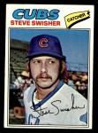 1977 Topps #419  Steve Swisher  Front Thumbnail