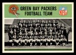 1965 Philadelphia #71   -  Green Bay Packers  Packers Team Front Thumbnail