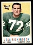 1959 Topps #174  Jess Richardson  Front Thumbnail