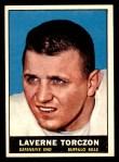 1961 Topps #157  Laverne Torczon  Front Thumbnail