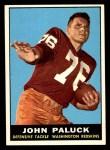 1961 Topps #130  John Paluck  Front Thumbnail