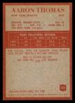 1965 Philadelphia #122  Aaron Thomas   Back Thumbnail