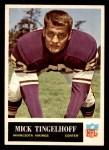 1965 Philadelphia #111  Mick Tingelhoff  Front Thumbnail