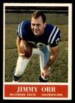 1964 Philadelphia #7  Jimmy Orr  Front Thumbnail