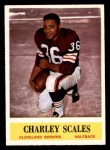 1964 Philadelphia #39  Charlie Scales  Front Thumbnail