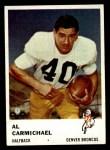 1961 Fleer #145  Al Carmichael  Front Thumbnail