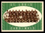 1961 Topps #121   Cardinals Team Front Thumbnail