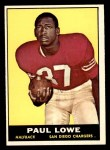 1961 Topps #167  Paul Lowe  Front Thumbnail