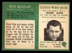 1966 Philadelphia #140  Pete Retzlaff  Back Thumbnail