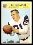 1966 Philadelphia #100  Ed Meador  Front Thumbnail
