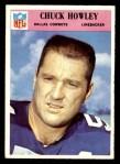 1966 Philadelphia #59  Chuck Howley  Front Thumbnail