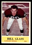 1964 Philadelphia #34  Bill Glass     Front Thumbnail