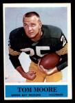 1964 Philadelphia #77  Tom Moore   Front Thumbnail