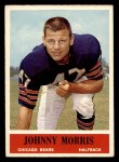 1964 Philadelphia #22  Johnny Morris  Front Thumbnail
