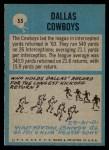 1964 Philadelphia #55   Cowboys Team Back Thumbnail