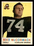 1959 Topps #74  Mike McCormack  Front Thumbnail