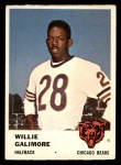 1961 Fleer #3  Willie Galimore  Front Thumbnail