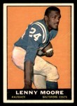 1961 Topps #2  Lenny Moore  Front Thumbnail