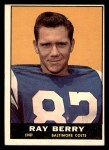 1961 Topps #4  Ray Berry  Front Thumbnail