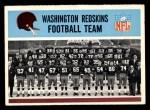 1966 Philadelphia #183   Redskins Team Front Thumbnail