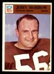 1966 Philadelphia #47  John Morrow  Front Thumbnail