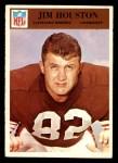 1966 Philadelphia #46  Jim Houston  Front Thumbnail