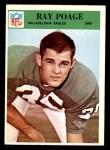 1966 Philadelphia #138  Ray Poage  Front Thumbnail