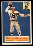 1956 Topps #93  George Ratterman  Front Thumbnail