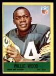 1967 Philadelphia #83  Willie Wood  Front Thumbnail