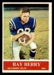 1964 Philadelphia #1  Raymond Berry    Front Thumbnail