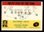 1964 Philadelphia #14   -  Don Shula Baltimore Colts Front Thumbnail