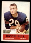 1964 Philadelphia #16  Ron Bull  Front Thumbnail