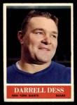 1964 Philadelphia #116  Darrell Dess  Front Thumbnail