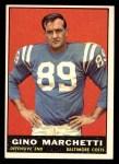 1961 Topps #7  Gino Marchetti  Front Thumbnail