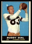 1961 Topps #107  Buddy Dial  Front Thumbnail