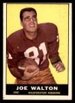 1961 Topps #126  Joe Walton  Front Thumbnail