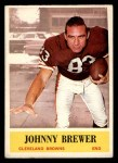 1964 Philadelphia #29  Johnny Brewer  Front Thumbnail