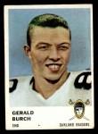 1961 Fleer #193  Gerald Burch  Front Thumbnail