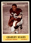 1964 Philadelphia #39  Charlie Scales  Front Thumbnail