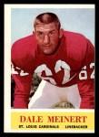 1964 Philadelphia #176  Dale Meinert  Front Thumbnail