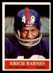 1964 Philadelphia #113  Erich Barnes   Front Thumbnail
