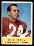 1964 Philadelphia #180  Bill Stacy  Front Thumbnail