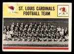 1964 Philadelphia #181   Cardinals Team Front Thumbnail