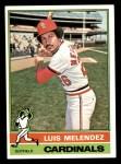 1976 Topps #399  Luis Melendez  Front Thumbnail