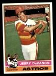 1976 Topps #551  Jerry DaVanon  Front Thumbnail
