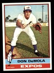 1976 Topps #571  Don DeMola  Front Thumbnail