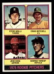 1976 Topps #591   -  Steve Grilli / Craig Mitchell / Jose Sosa / George Throop Rookie Pitchers   Front Thumbnail